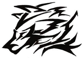 Wolf Tribal by meldex