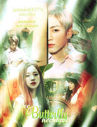 The Butterfly Necklace - AFF POSTER by yzhandrexoc