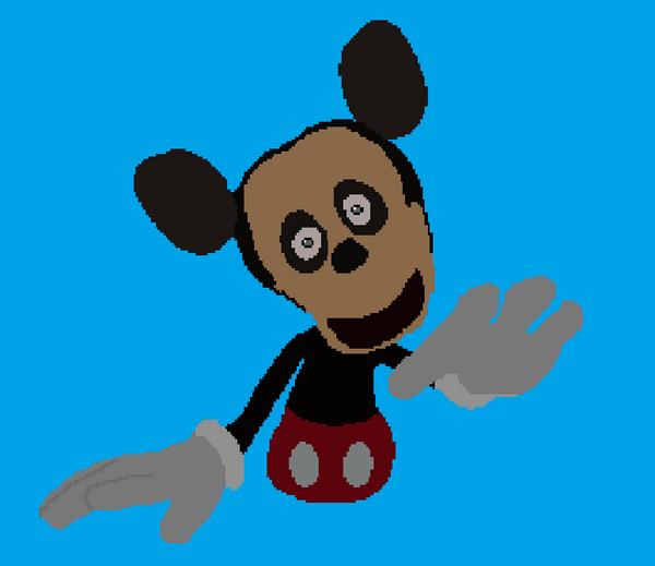 Distorted Mickey Mouse By Walrusmanart On DeviantArt