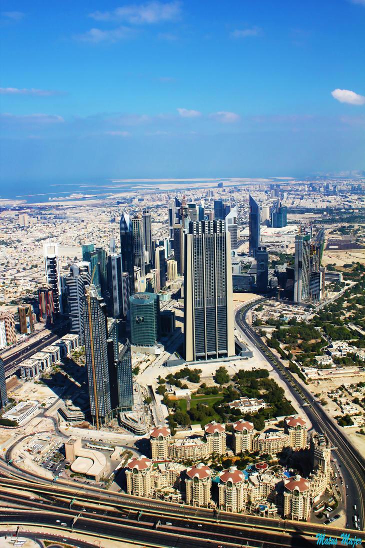 Sheikh Zayed Road by MatusMajer