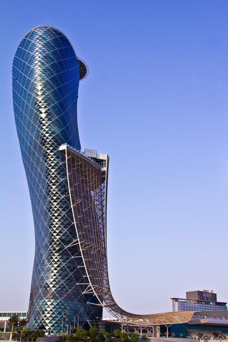 The Capital Gate by MatusMajer on DeviantArt