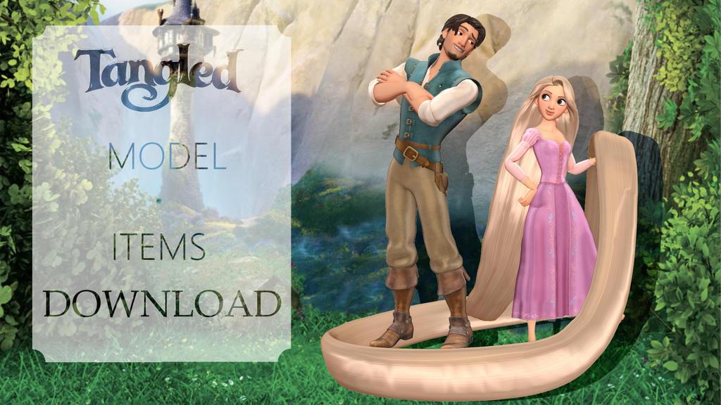Kh3 Tangled Model And Items Download By Kanbara Naiki On Deviantart