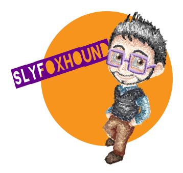 Slyfoxhound Pointilism by LookingForianne