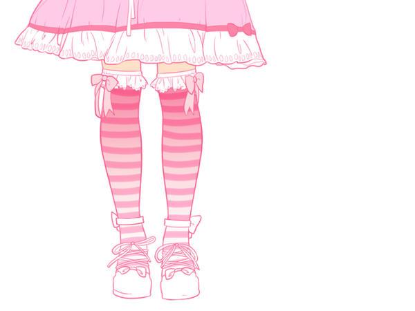 Pink gothic lolita by Heart-Attack-Design
