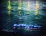 On the waves of memory, a tram of memories ... by aloner777