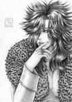 Mephisto Northernlight Pencil Art by KazukiShinta