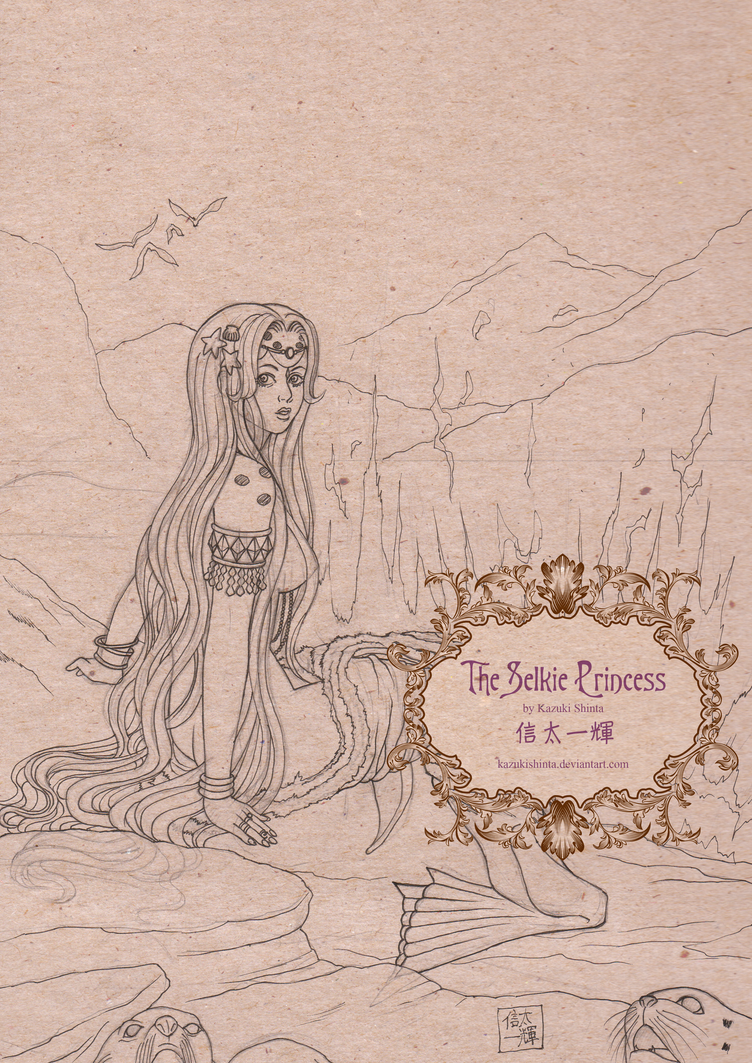 Contest Entry:  The Selkie Princess by KazukiShinta
