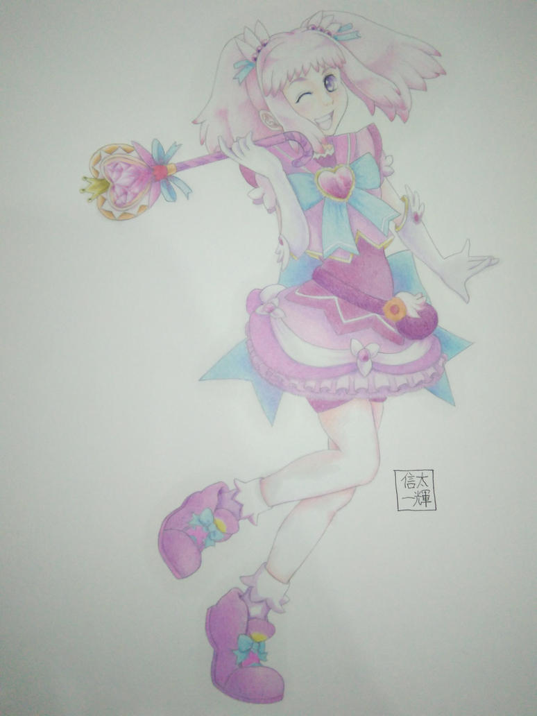Fanart Kirameki mamika by KazukiShinta