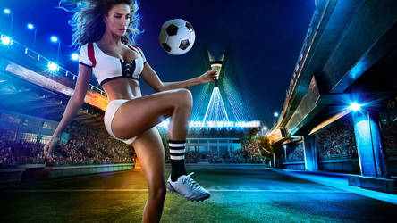 beauty and magic- football baby wallpapers by FIFA16Mall