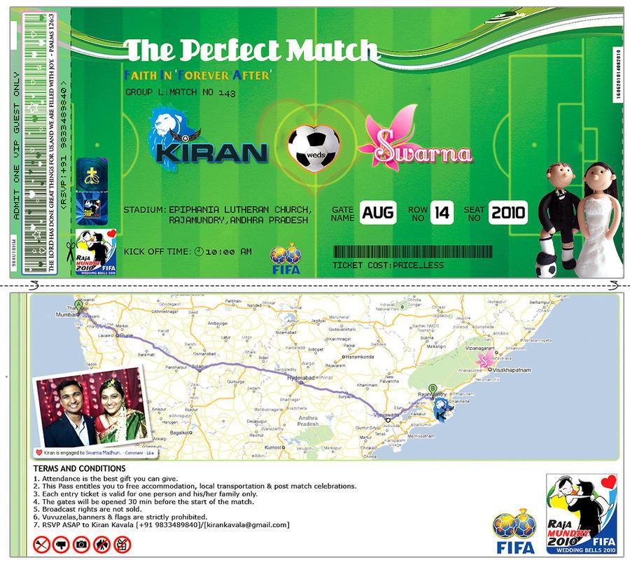 Soccer Themed Wedding Ideas: Soccer Themed Wedding Invite By Warriorash On DeviantArt