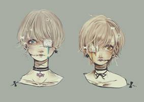 Mannequin head by Yoshimaya