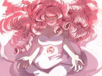 Rose Quartz by Emruki