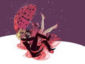 Raining Ladybugs