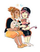 New Friends by Emruki