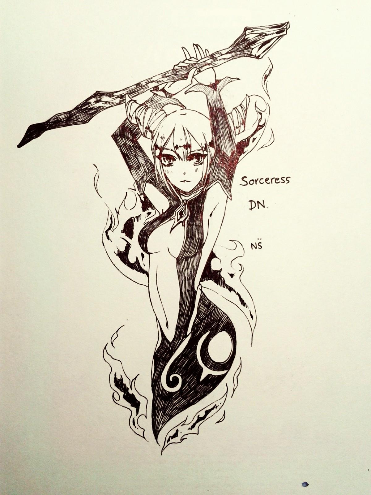 Sorceress DN by NuSinE