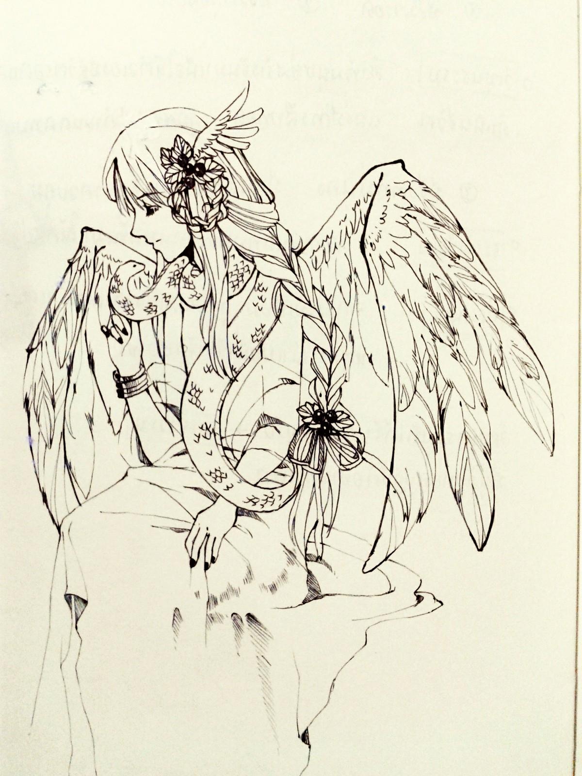 Sketch - Snake man by NuSinE
