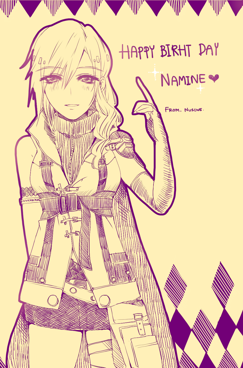 HBD Namine by NuSinE