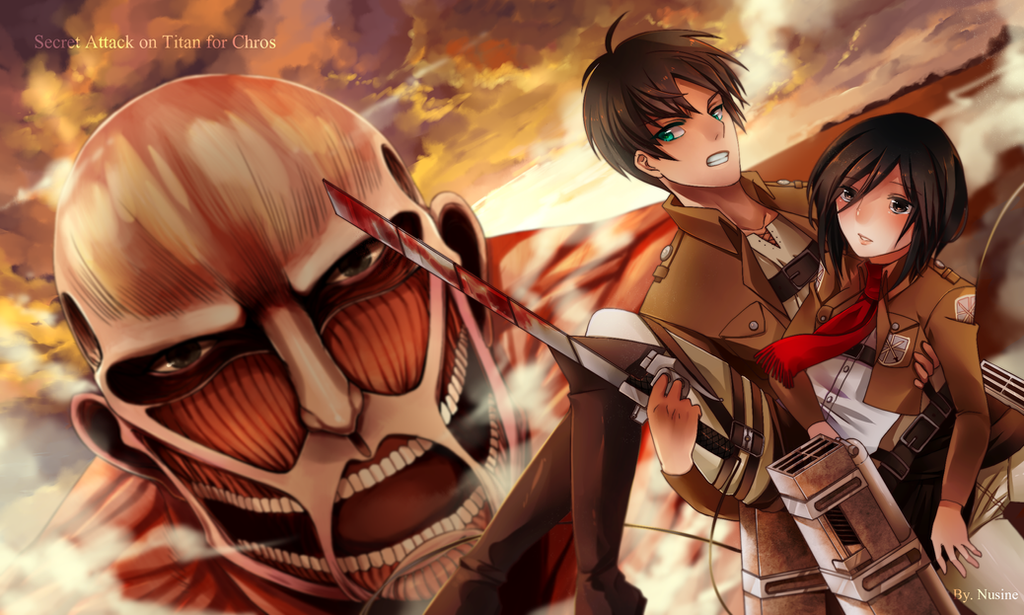 Secret Attack on Titan. by NuSinE