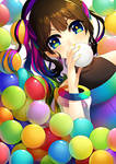 COLORFUL. by Nusine