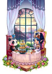 CM : Melanie and Mr. Panda by Nusine