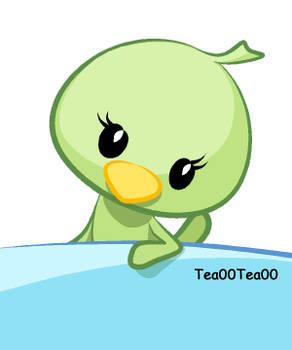 green bird 03