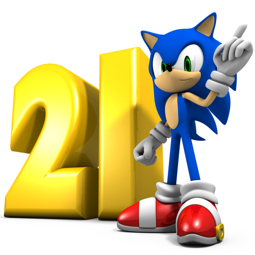 Sonic 21 anniversary gift by Argos90