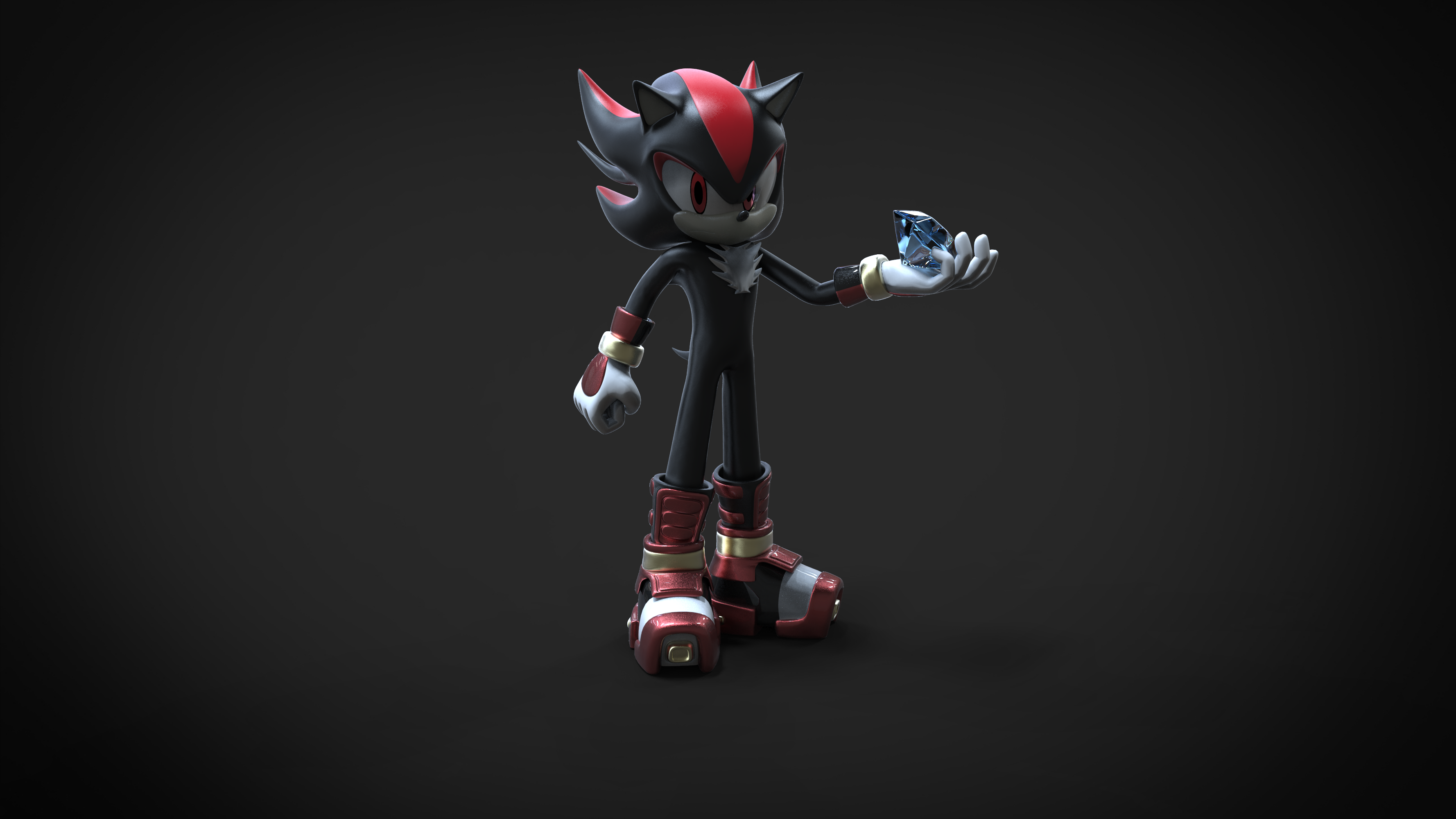 Sonic boom shadow the hedgehog by argos90 on deviantart - Shadow sonic boom ...