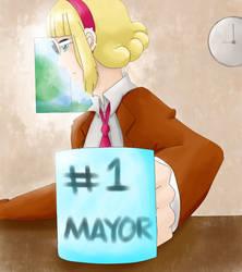 Mayor Amee by OokamiOki