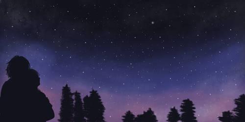 Stargazing by OokamiOki