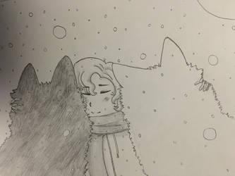 Winter Warmth by OokamiOki