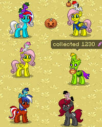 The gang of Pony Town six