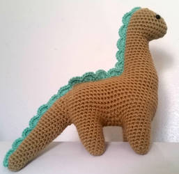 Amigurumi Dinosaur by augeeklectic