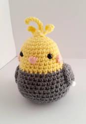 Birb Crochet by augeeklectic