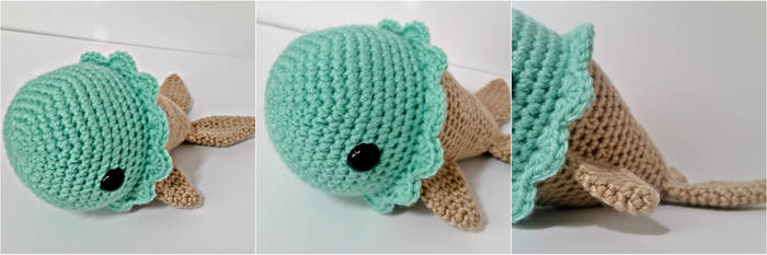 Amigurumi Ice Cream Fish