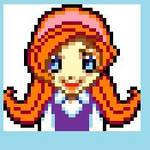 WarioWare Inc: Mona Sprite