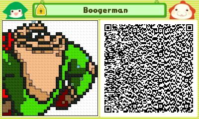 Boogerman Pushmo Card by thenardsofdoom