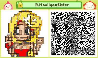 R. Hooligan Sister Pushmo Card by thenardsofdoom