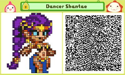Dancer Shantae Pushmo Card by thenardsofdoom
