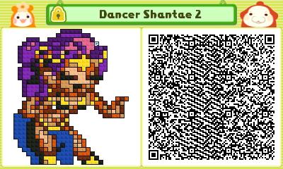 Dancer Shantae 2 Pushmo Card by thenardsofdoom