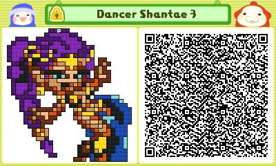 Dancer Shantae 3 Pushmo Card by thenardsofdoom