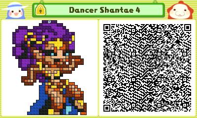 Dancer Shantae 4 Pushmo Card by thenardsofdoom
