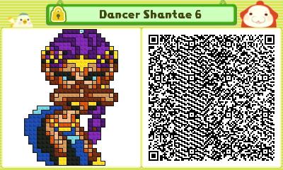 Dancer Shantae 6 Pushmo Card by thenardsofdoom