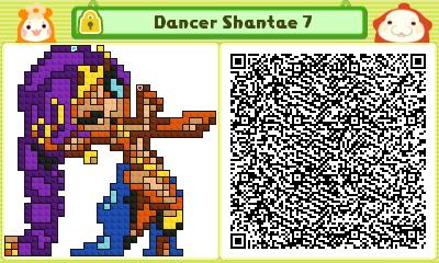 Dancer Shantae 7 Pushmo Card by thenardsofdoom
