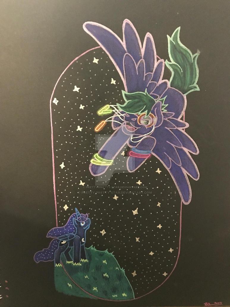 Flying Through the Night by pretty-pretty-star