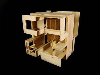 Woodshop Cube by blazinazn364