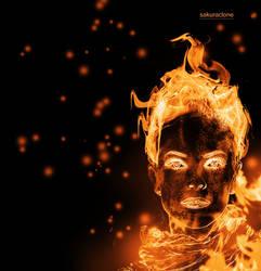 Flaming Human Body Manipulation by SakuraCloneHime