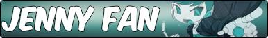 Jenny Wakeman fan button by snitchpogi12