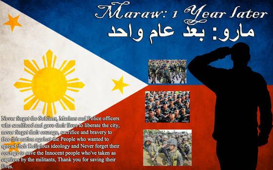 Marawi: 1 Year later