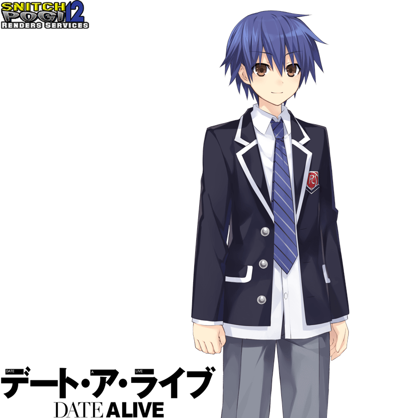 Shido Itsuka Render 4 By Snitchpogi12 On Deviantart Adopted into the itsuka's family household at a very young age. shido itsuka render 4 by snitchpogi12