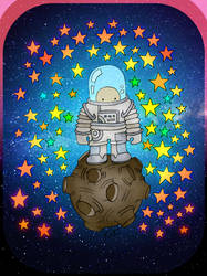 boy astronaut.